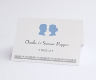Silhouetteplacecard grid