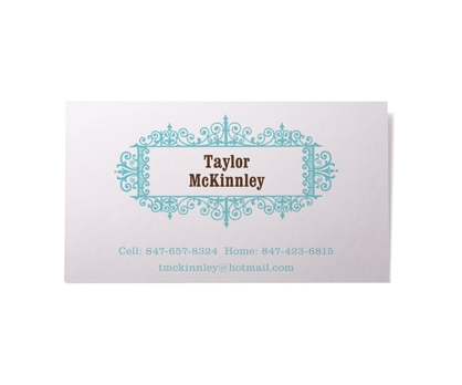 Antique Calling Cards from Paperwink