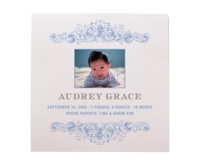 Baby ornament photo grid
