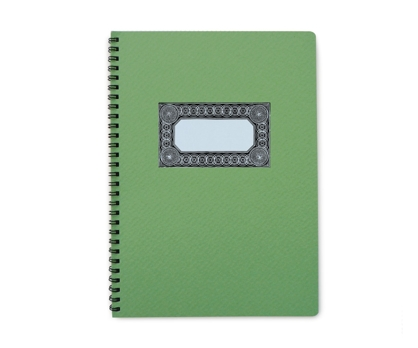 Greenbay Spiral Notebook from Paperwink