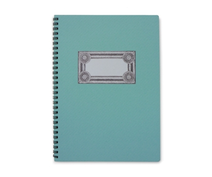 Teal Delight Spiral Notebook from Paperwink