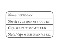 Stat nameplate grid