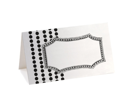 Modern Glamor Placecards  from Paperwink