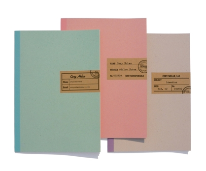 Forms Personalized Notebooks from Paperwink