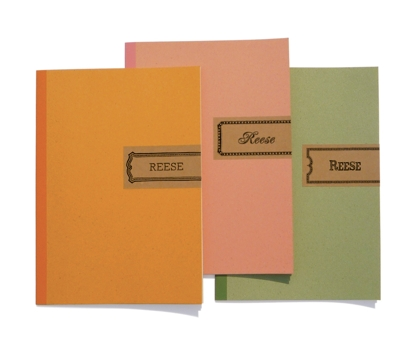 Frames Personalized Notebooks from Paperwink