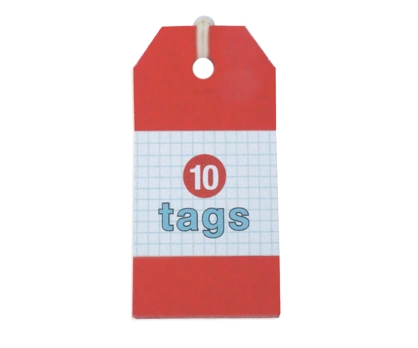 Red Tags 10 Pack from Paperwink