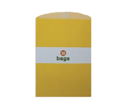 Yellow Treat Bags 10 Pack from Paperwink