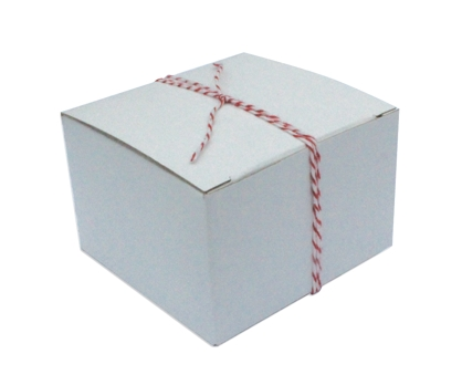 White Gift Box Single Box from Paperwink
