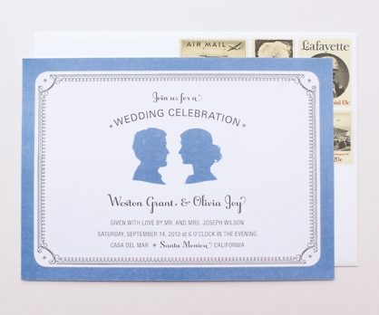 Silhouette  DIY Printable Invitation from Paperwink