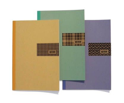 Fabric Personalized Notebooks from Paperwink
