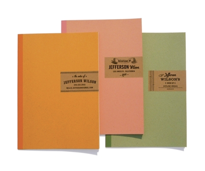 Industrial Personalized Notebooks from Paperwink