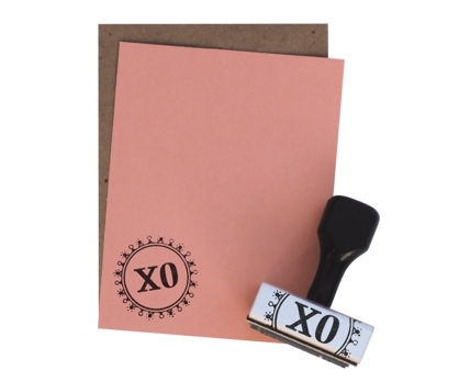 XO Stationery Stamp Set from Paperwink