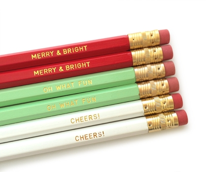 Holiday Cheer 6 No. 2 Pencils from Paperwink