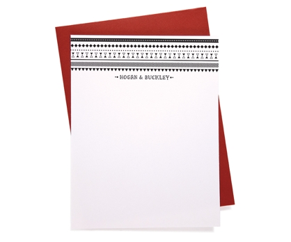 Aztec Personalized Notecards from Paperwink
